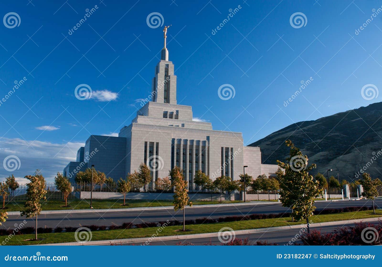 Textilkaufmann Utah, LDS Tempel