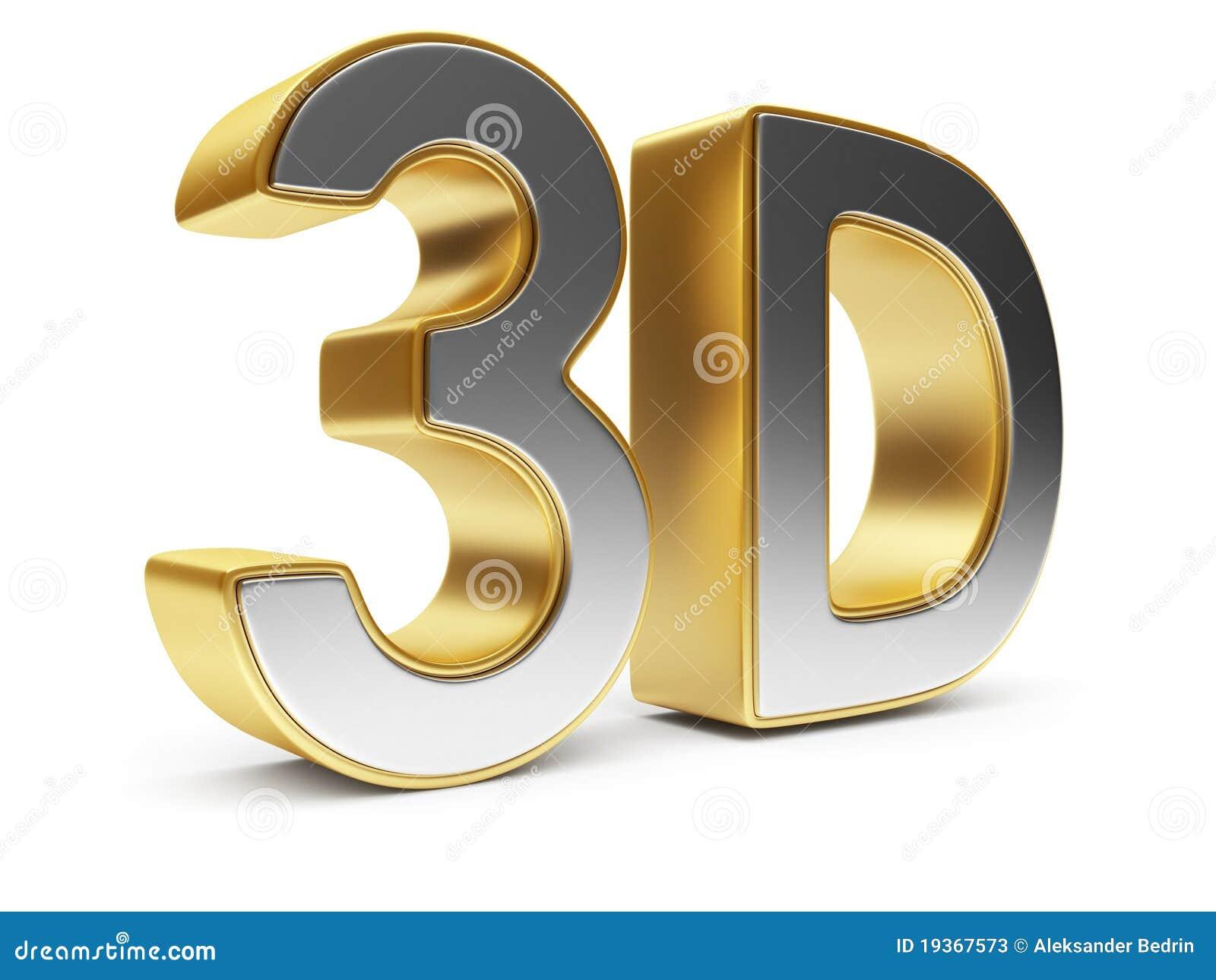 Texto 3D. Cinema do entretenimento. Ícone isolado