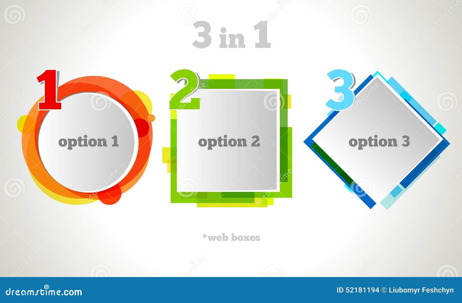 Texto abstrato da bolha do design web Quadro do negócio do vetor Jogo colorido da bandeira