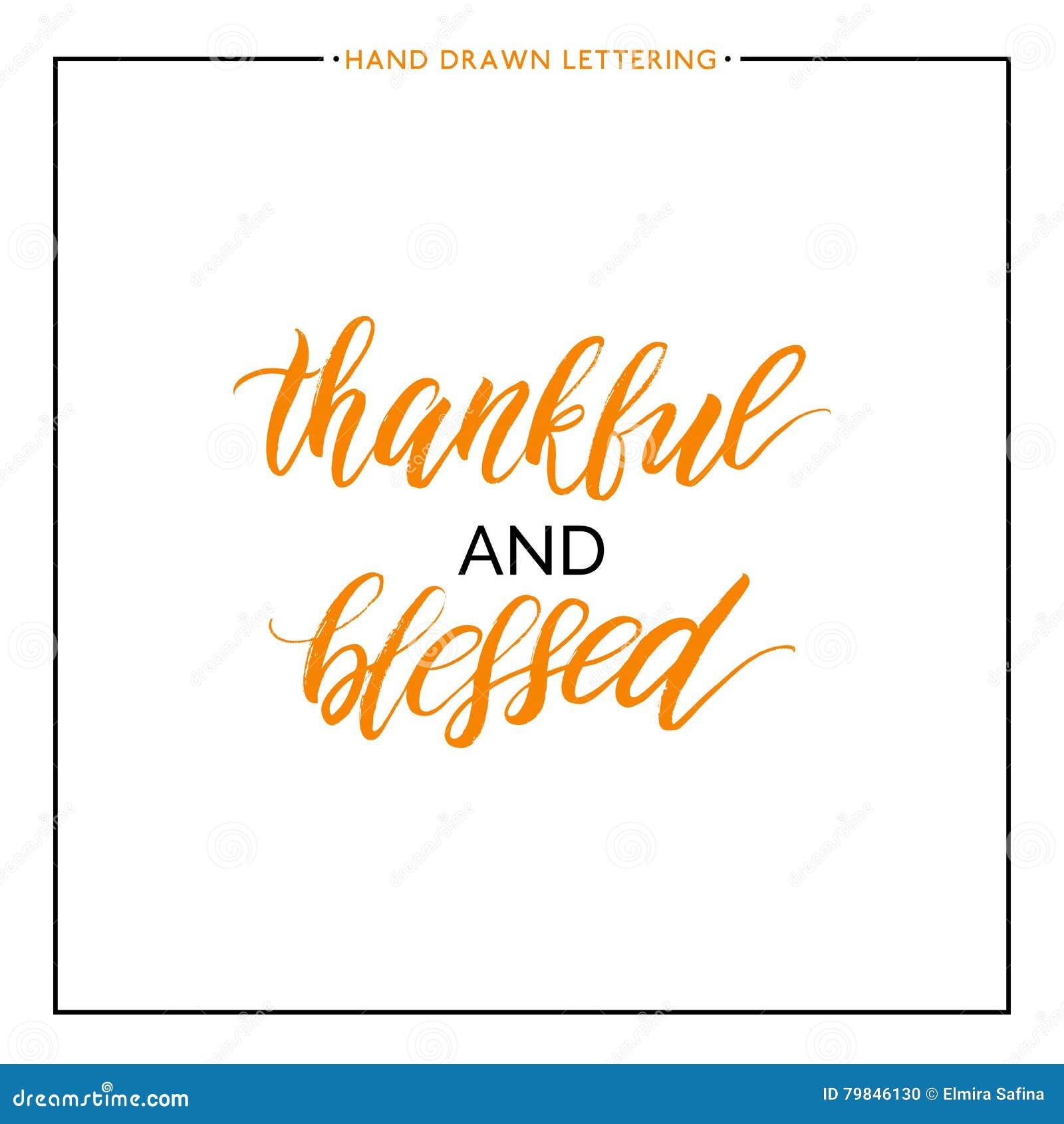 Texto agradecido y bendecido