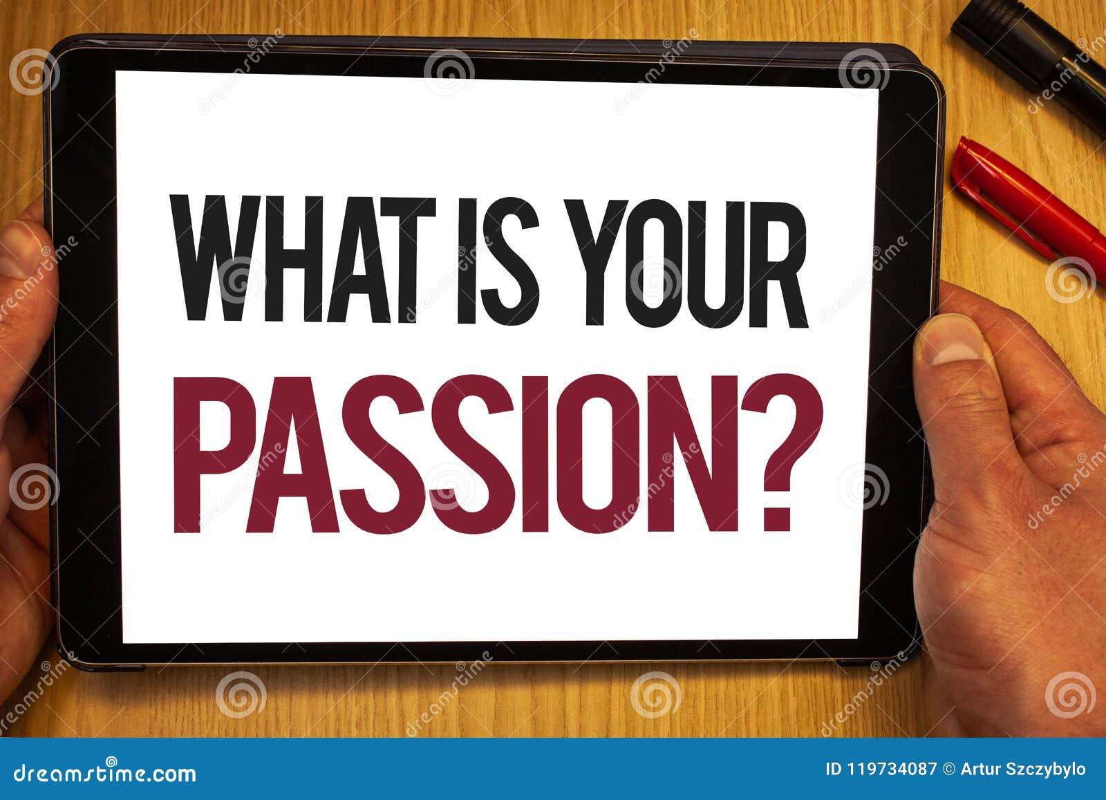 Texto da escrita o que é sua pergunta da paixão Significado do conceito que pergunta alguém sobre seus sonhos e posse da mão das