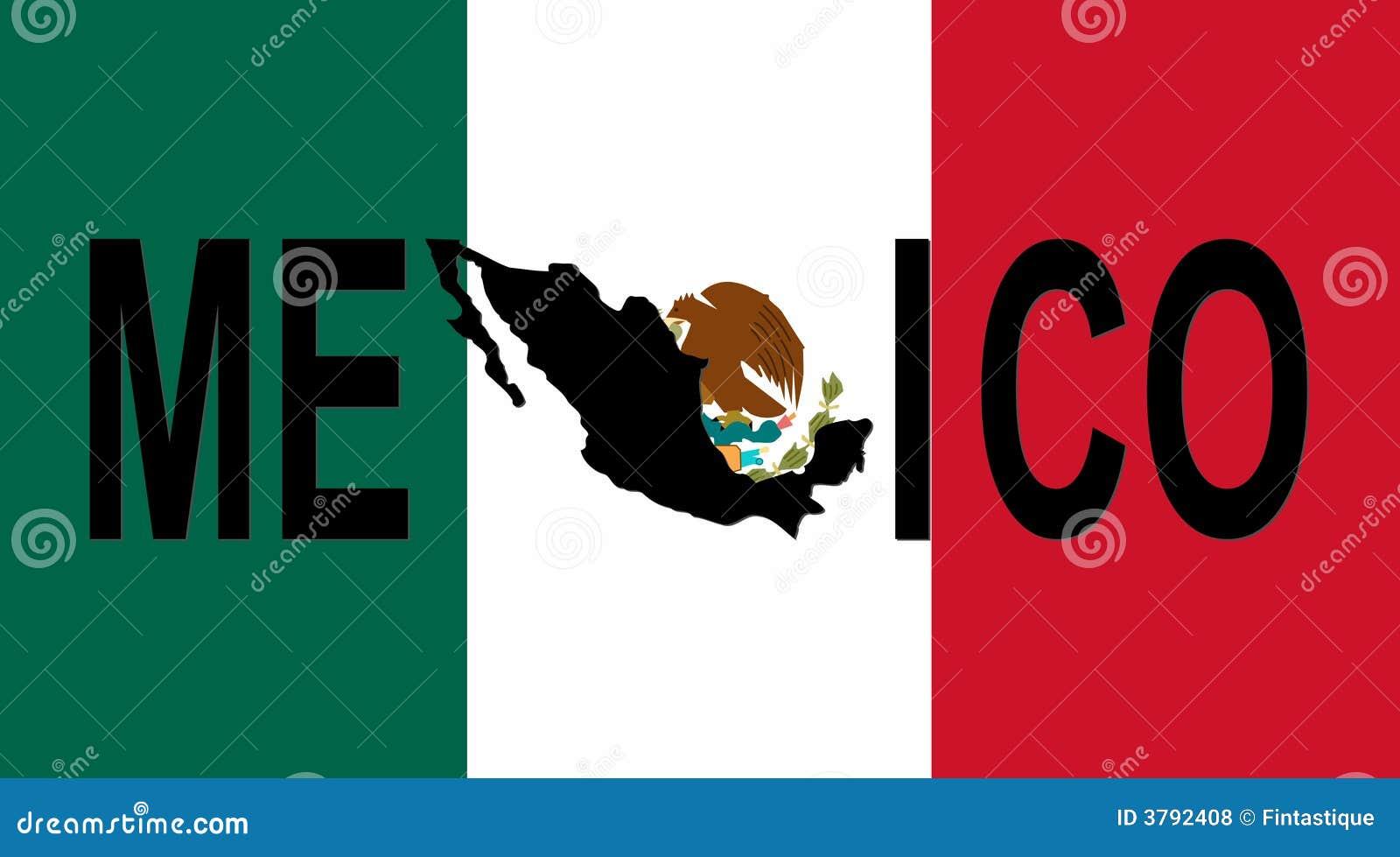 Texto de México con la correspondencia