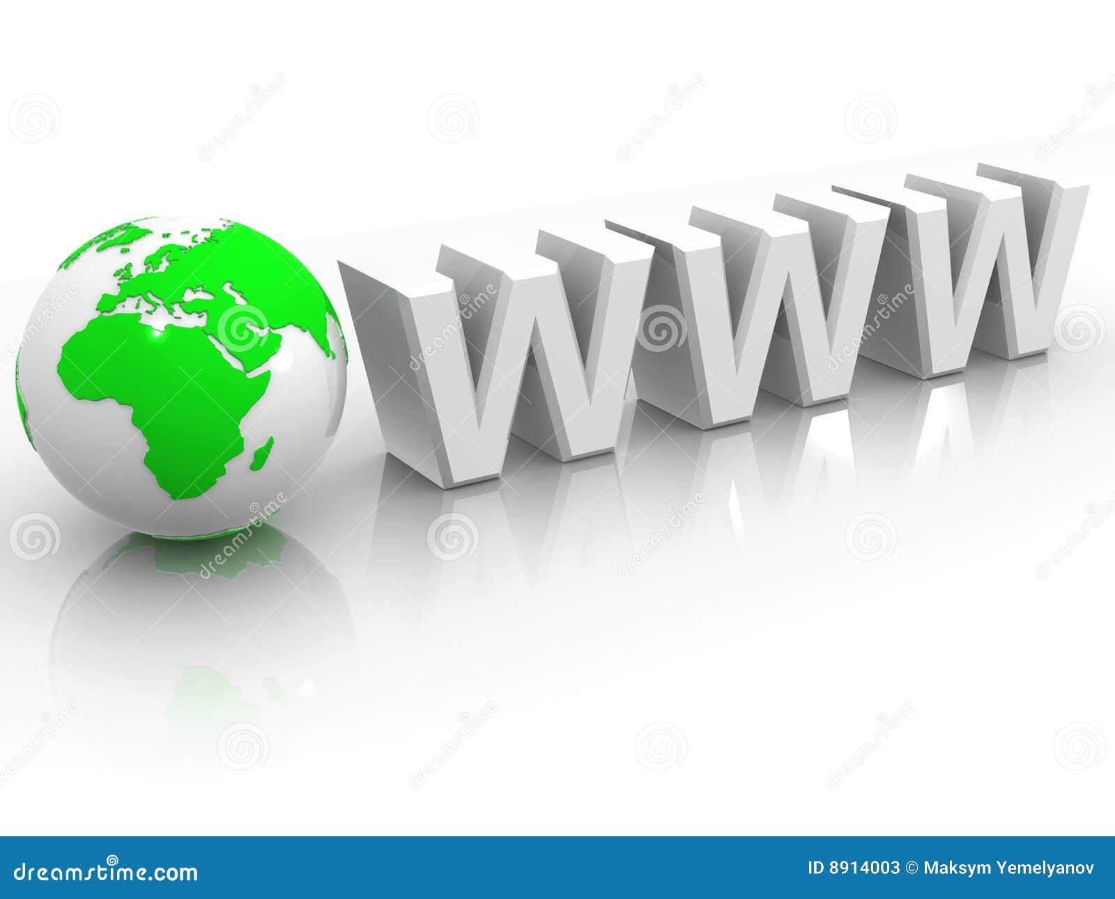 Texto WWW con tierra