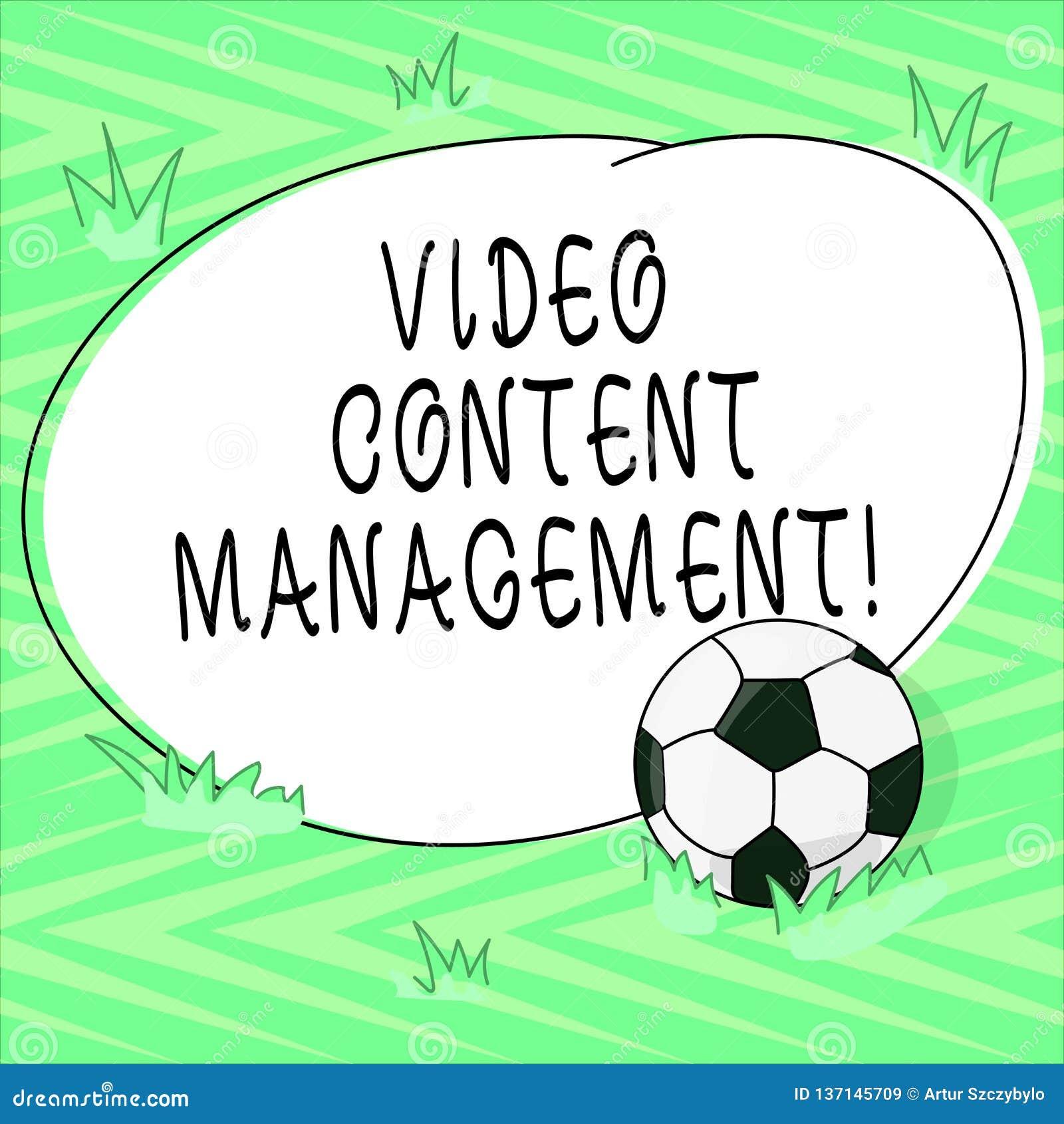 Texttecken som visar video nöjd ledning Den begreppsmässiga fotobedömningen av en individ s är svaret till en produktfotbollboll