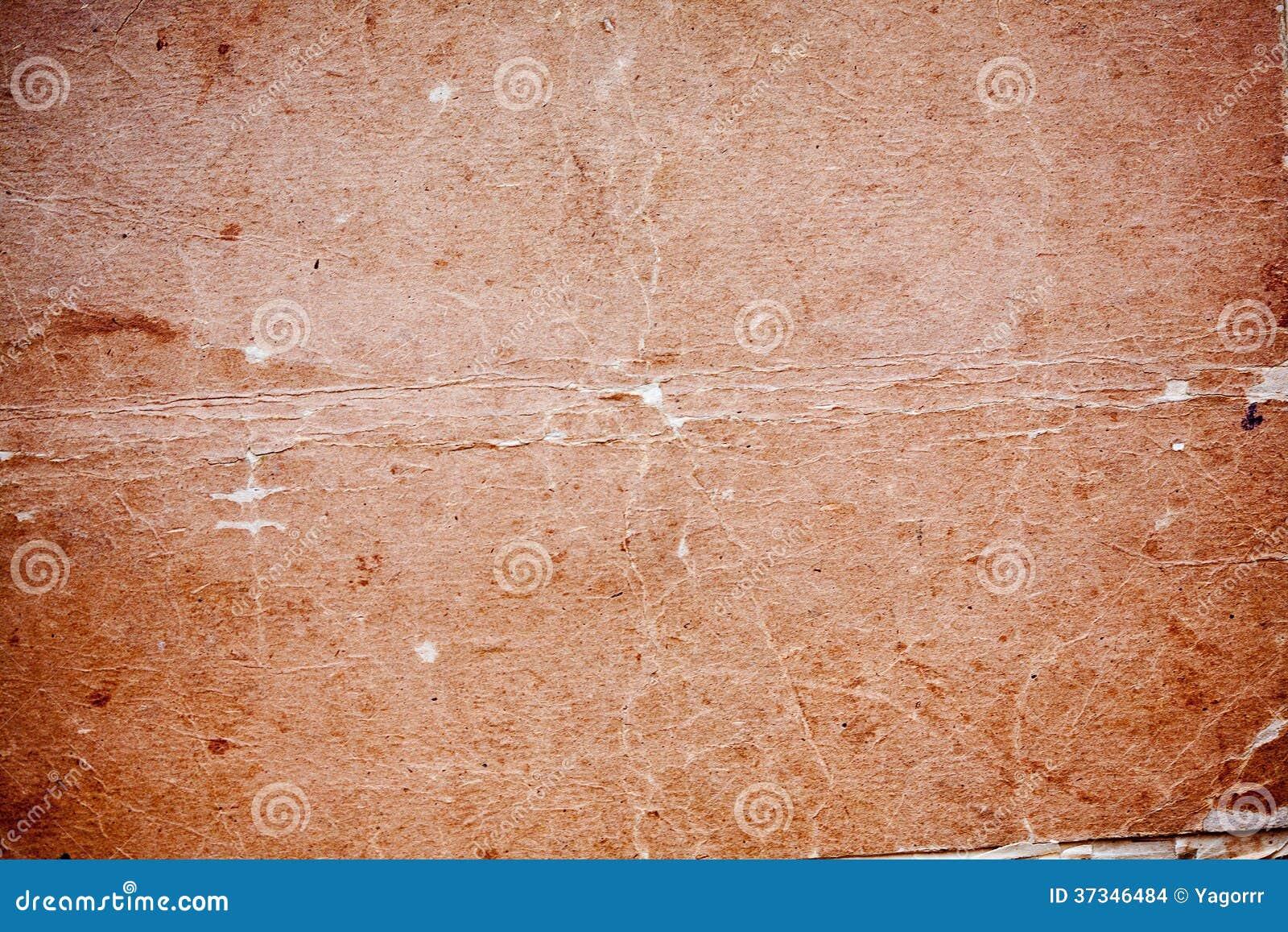 Textur av det gamla gulingpapperet