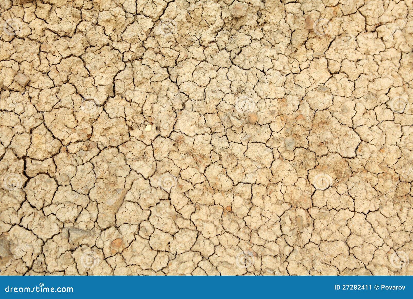 Textur av lera
