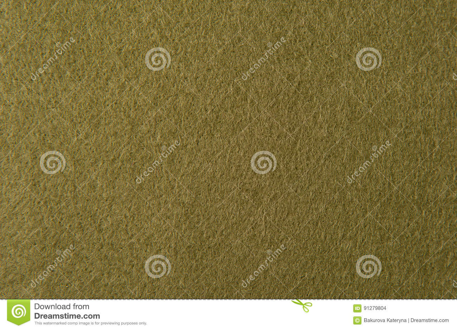 Textur av olivgrön filt