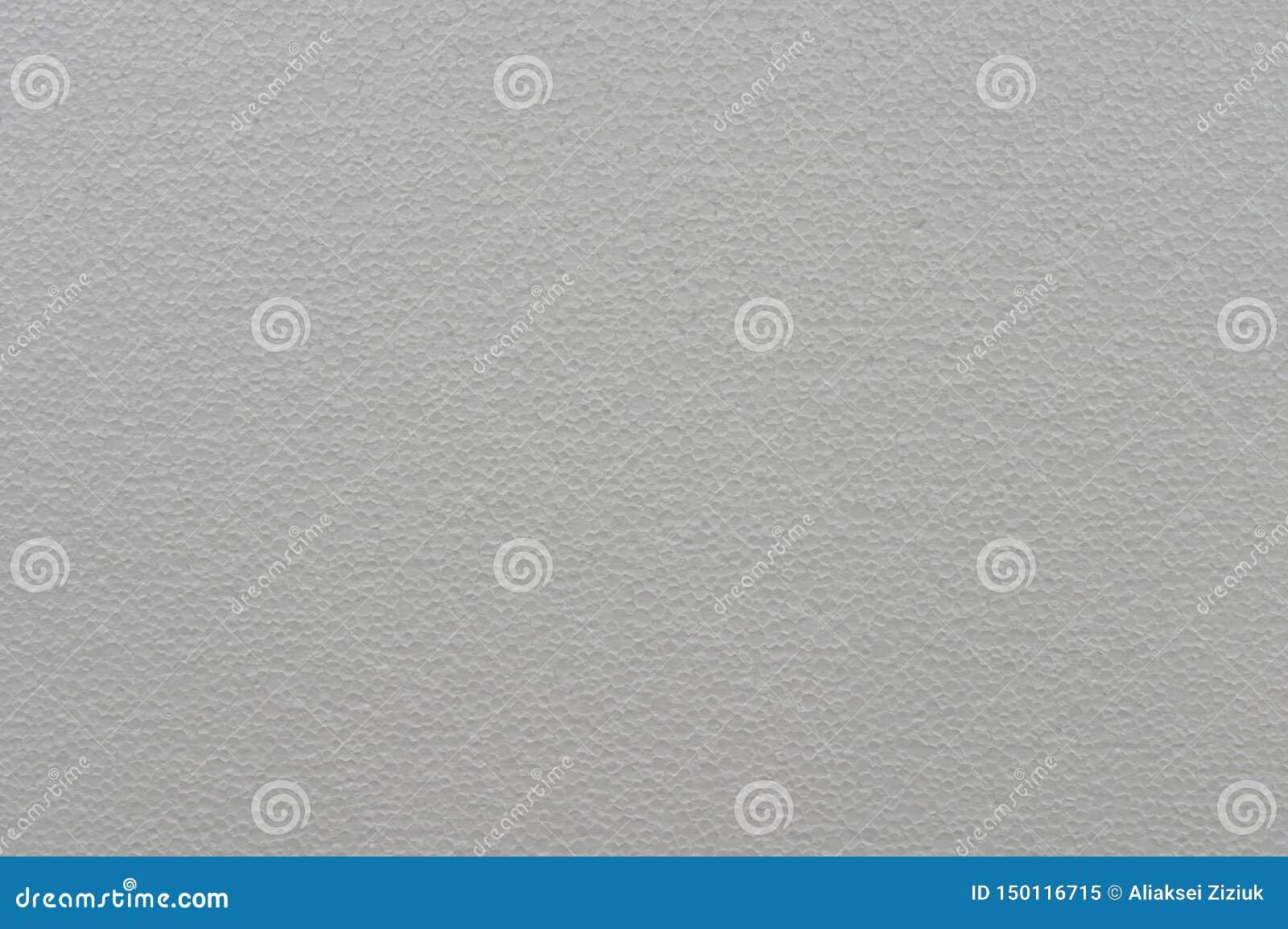 Textur av polystyrenen, cell- vit bakgrund