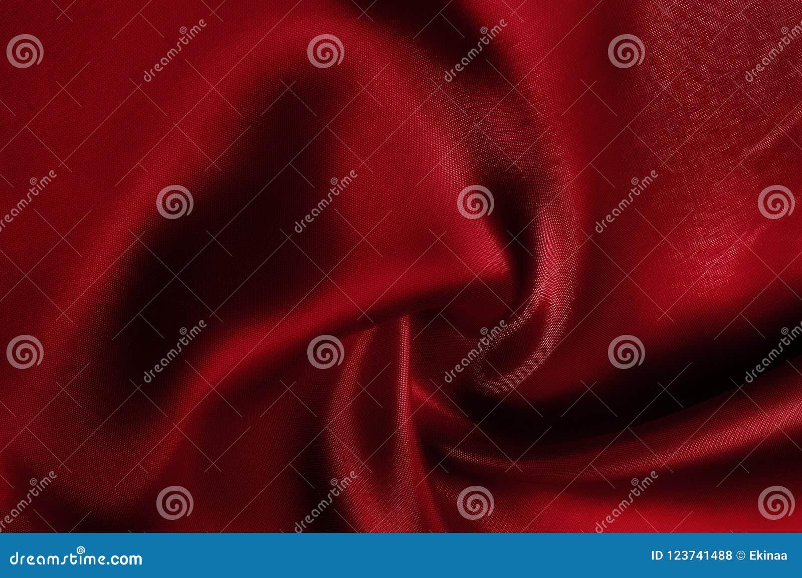 Textur modell rött silke för torkduk Se den tokiga det rött och steken
