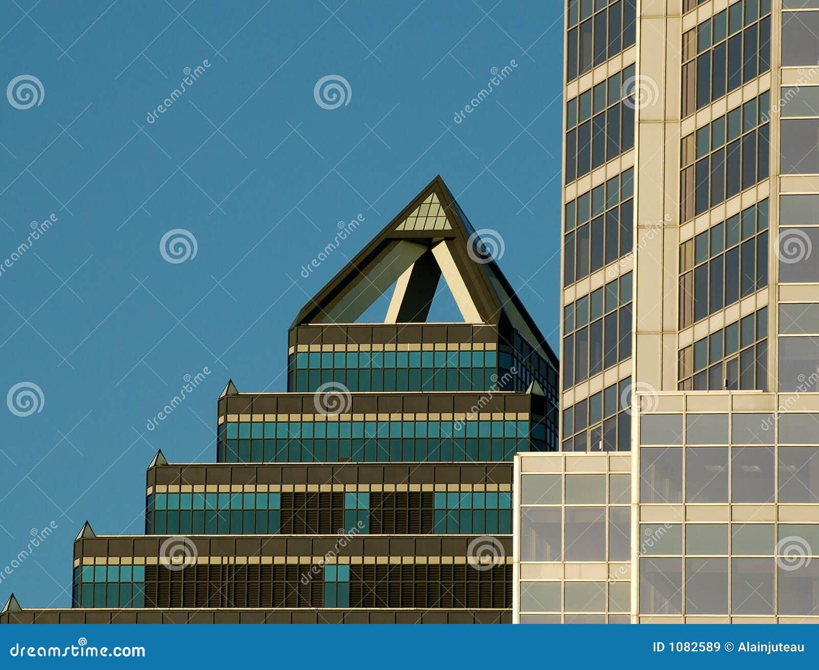Textura 4. del edificio de Montreal.