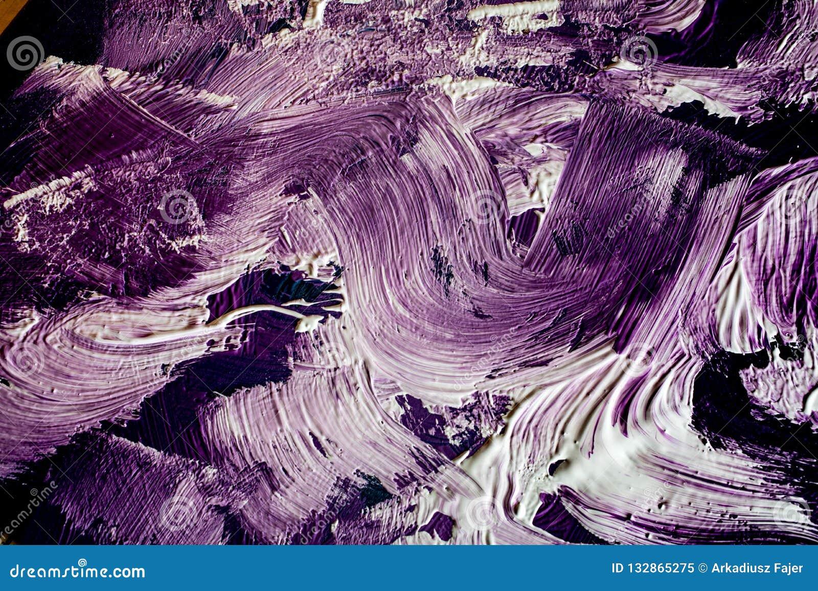 Textura abstracta de la pintura de aceite
