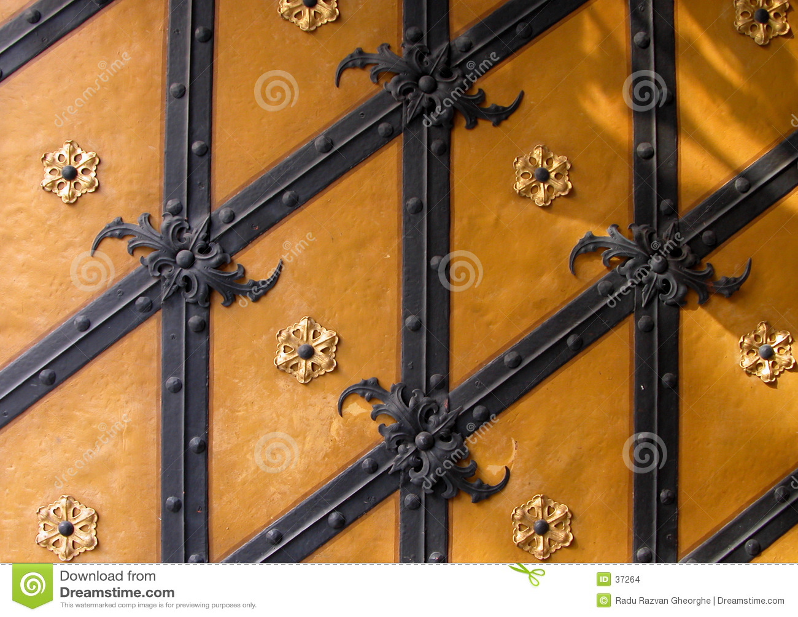 Textura alemão da porta