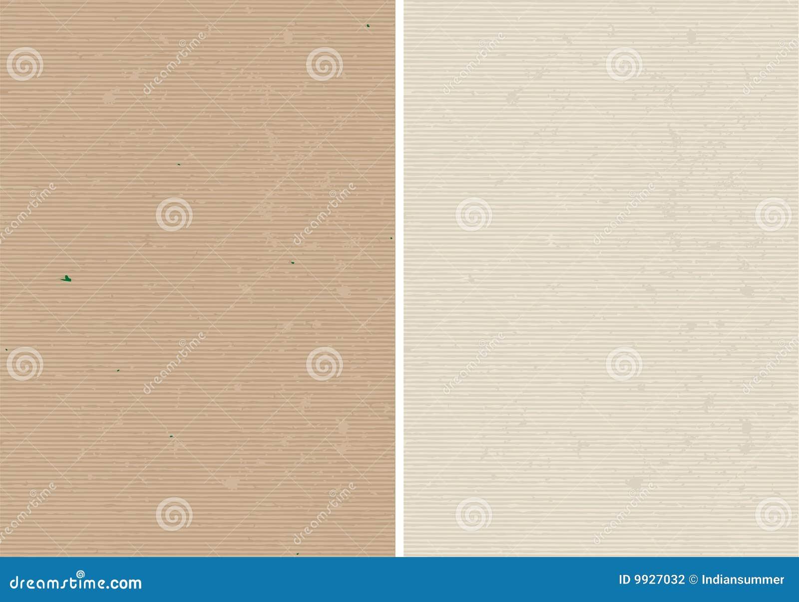 Textura alinhada e corrugada áspera