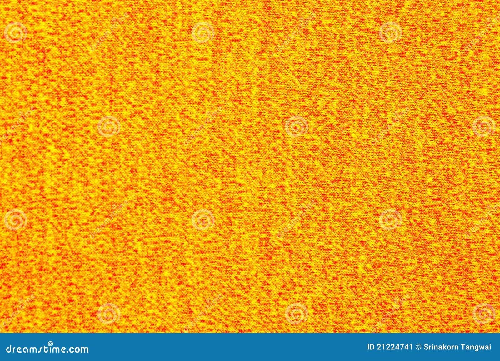 Textura Amarilla Y Roja De La Tela Imagen De Archivo