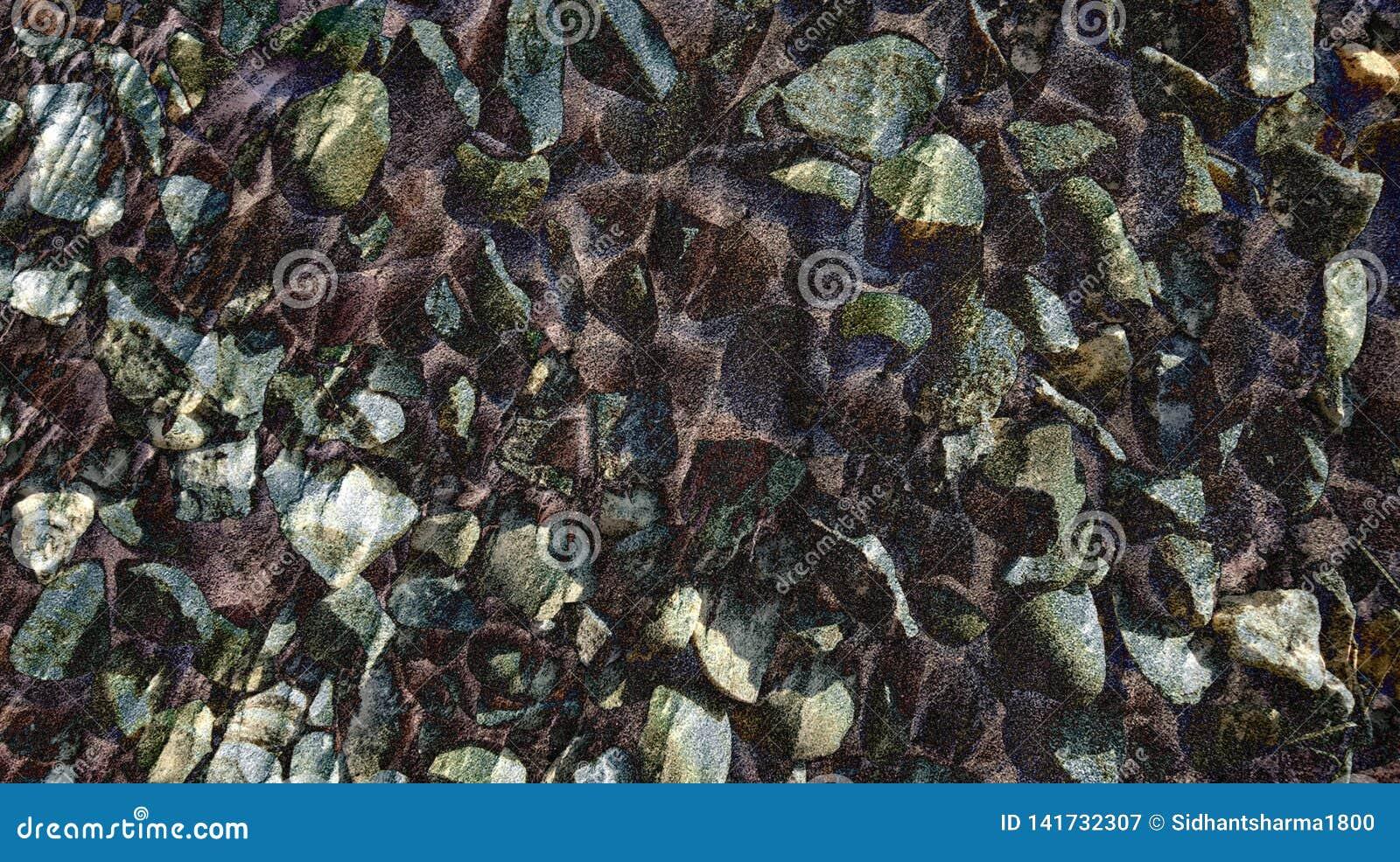 Textura animado da pedra do estilo da pedra do sumário com papel de parede do fundo
