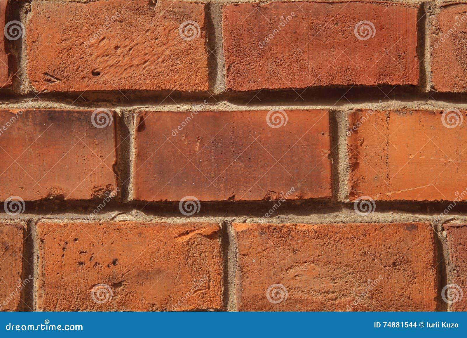 Textura arquitetónica do fundo da parede de tijolo