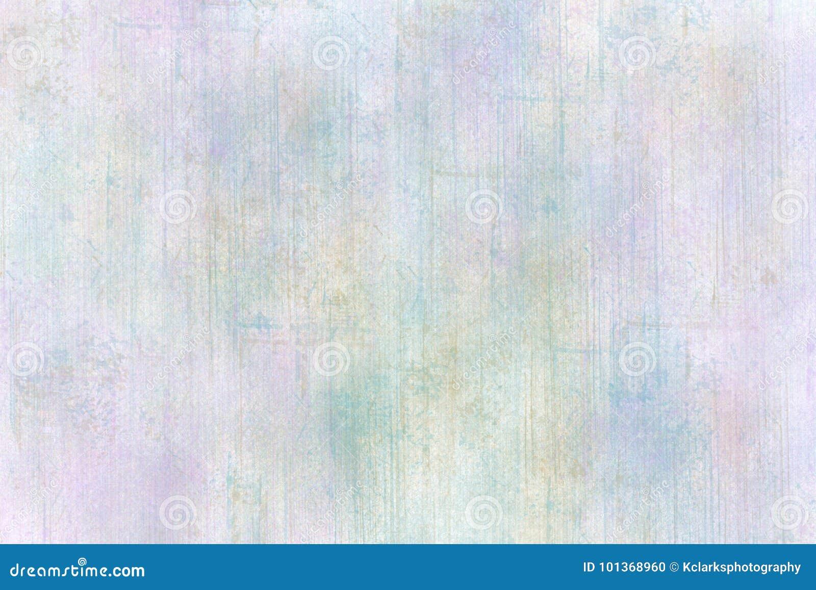 Textura azul do Grunge dos trabalhos com pincel da alfazema pastel