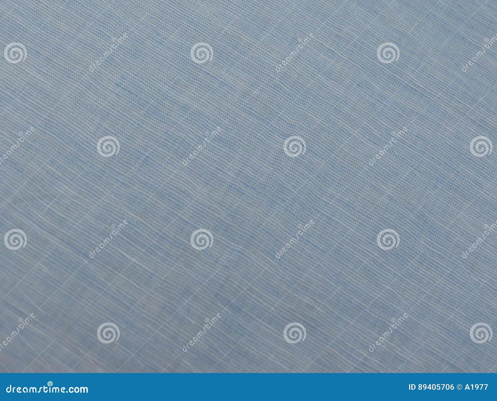 Textura azul do tecido de algodão