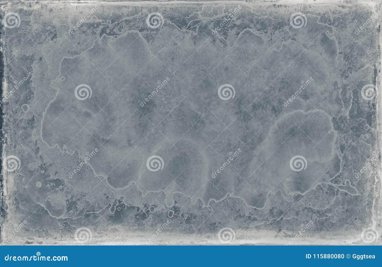 Textura azul velha gasto do quadro do projeto do grunge