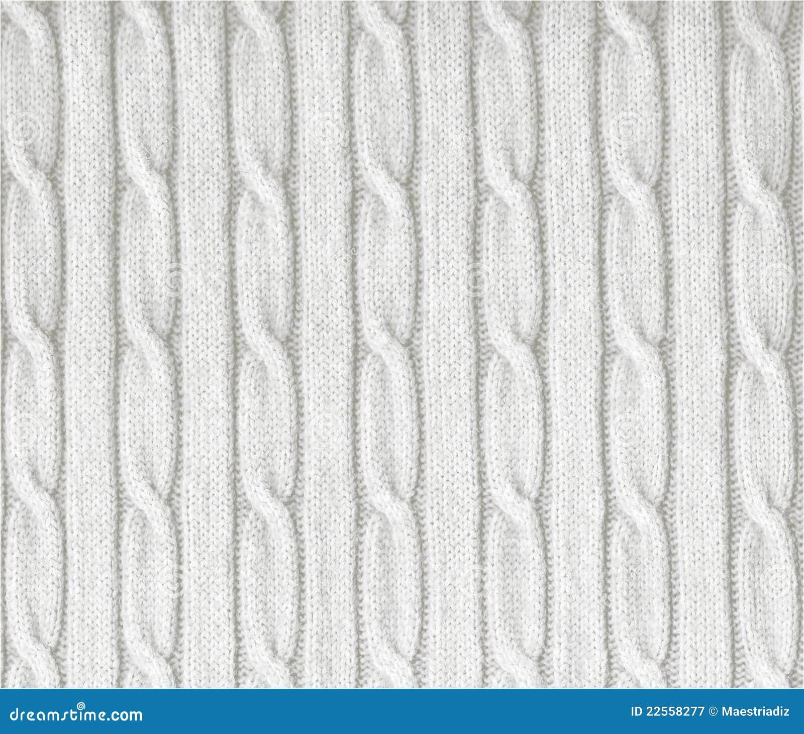 Textura blanca hecha punto imagen de archivo. Imagen de hermoso ...