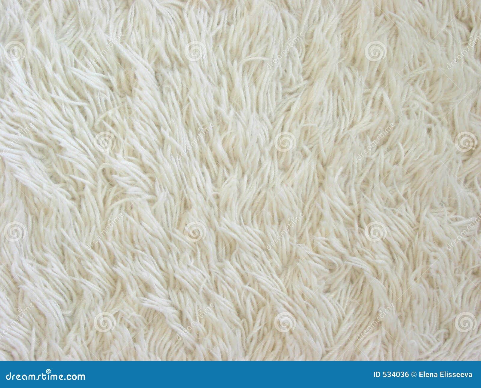 Textura Branca Do Tapete Foto De Stock Imagem De Fuzzy