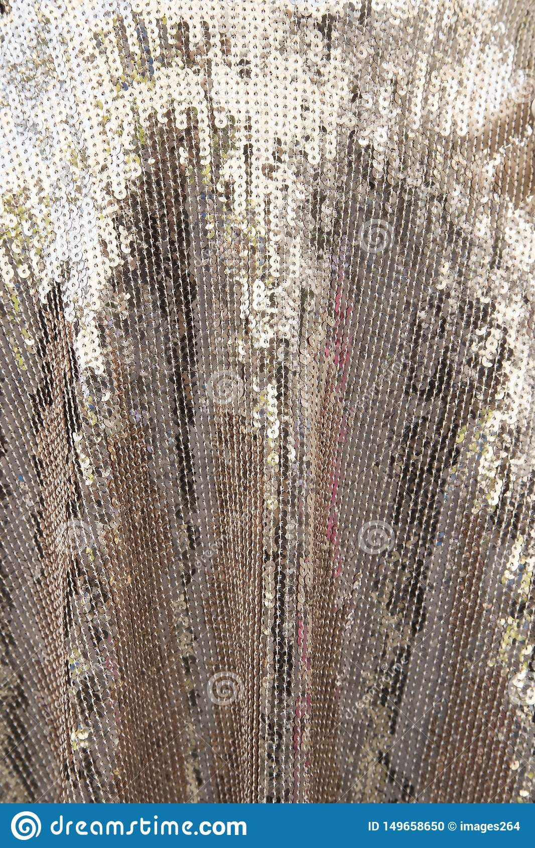 Textura brillante de plata