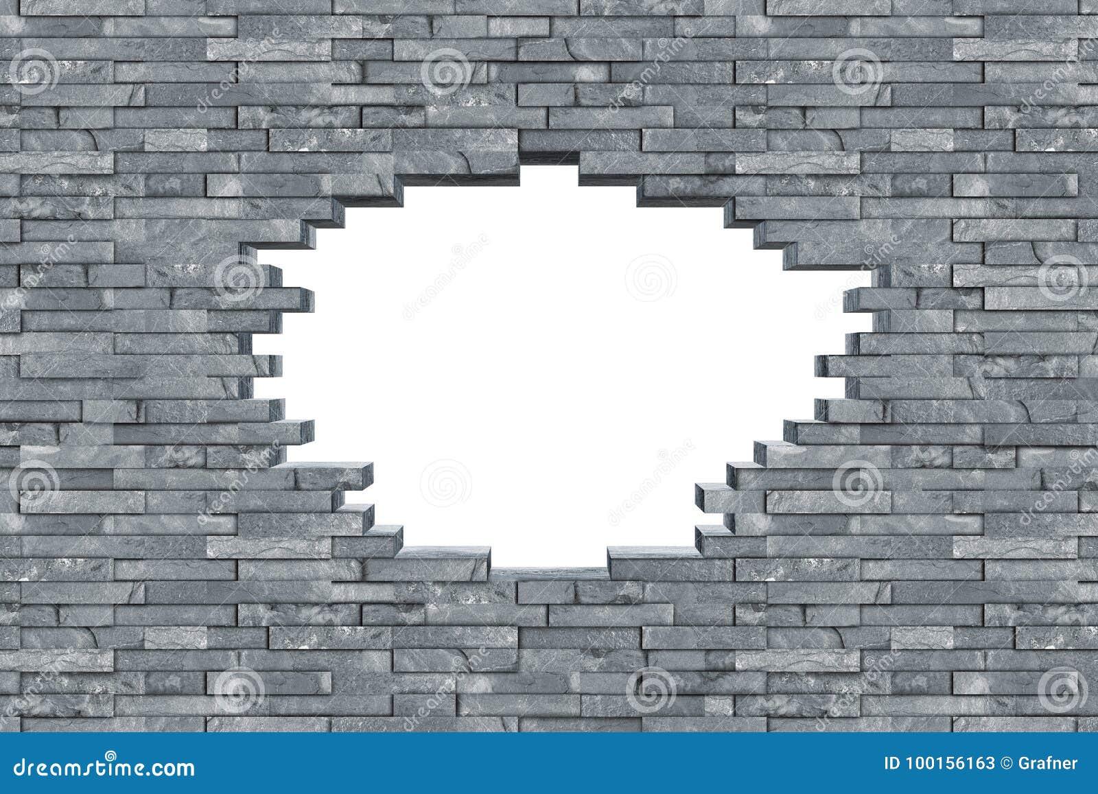Textura cinzenta da parede do furo da descoberta da ardósia