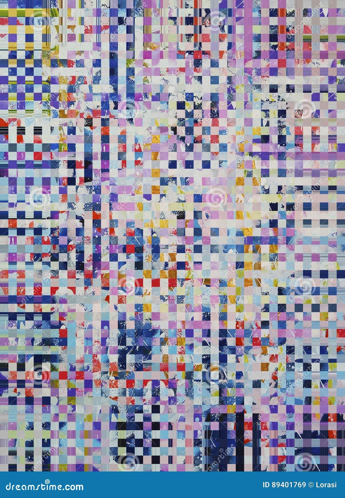 Textura colorida abstrata