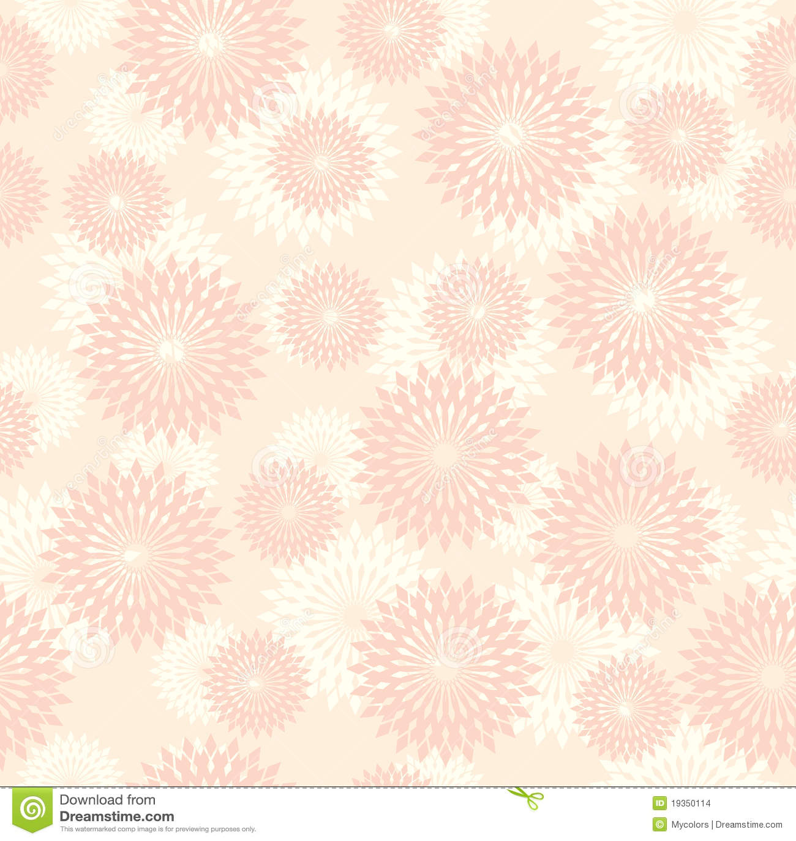 Textura cor-de-rosa com elementos redondos