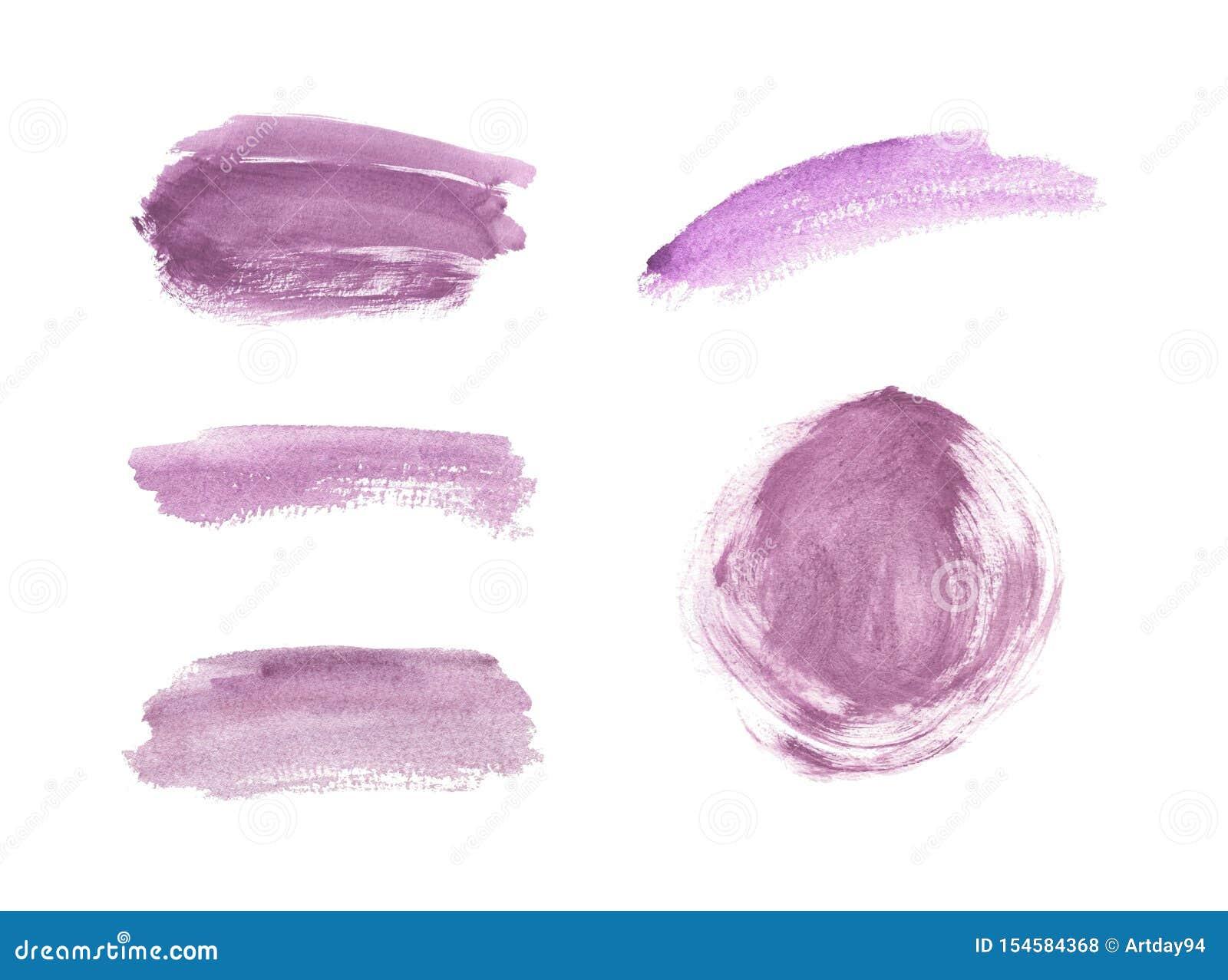Textura cor-de-rosa da aquarela do curso da escova Lavagens abstratas da aquarela O fundo na moda para a bandeira, inseto, cartaz