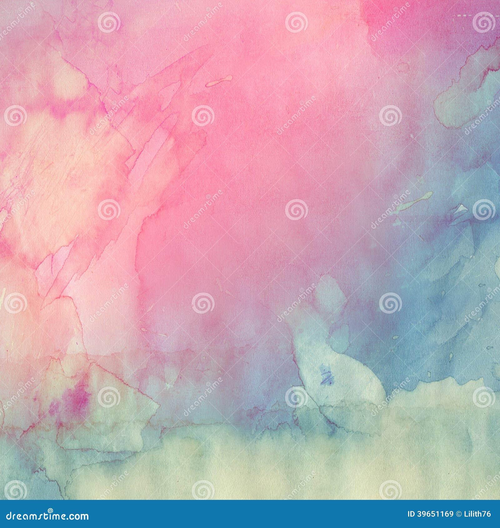 Textura da aquarela
