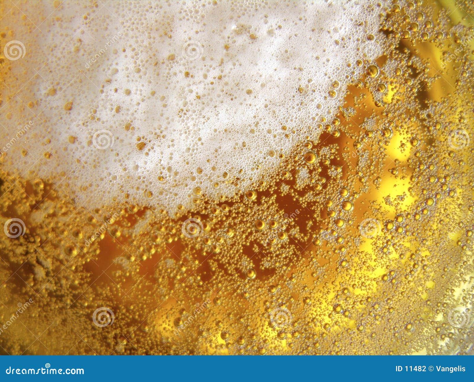Textura da cerveja