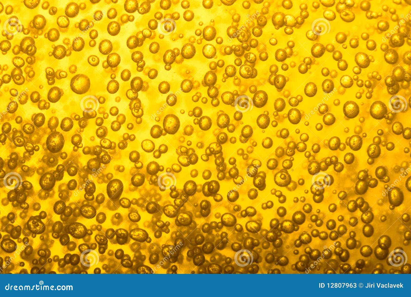 Textura da cerveja fria