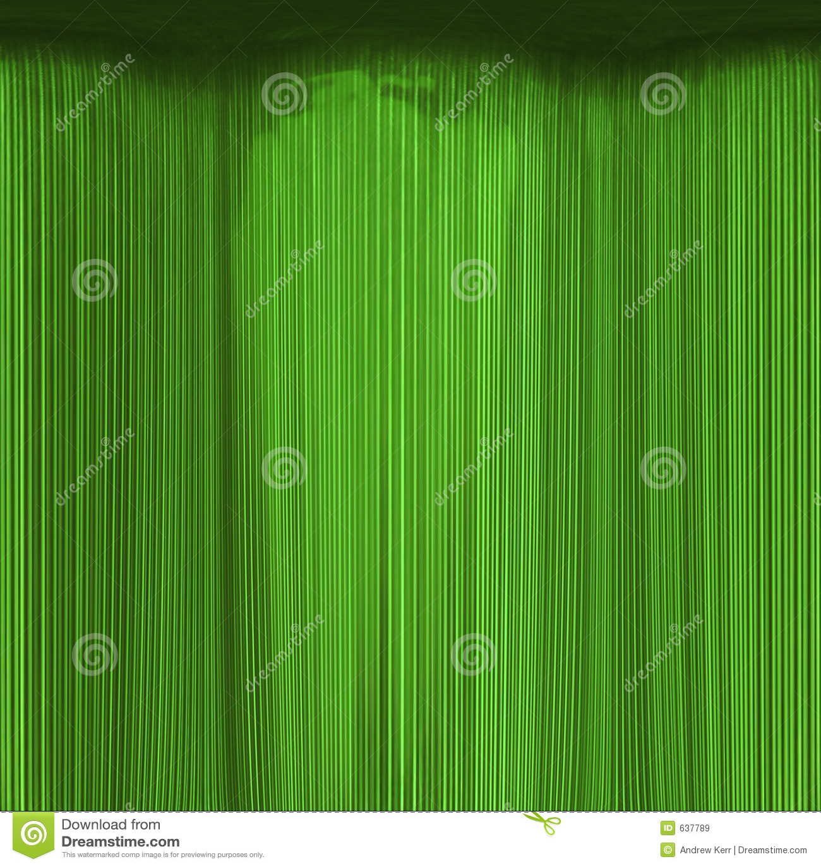 Textura da cortina do verde de esmeralda