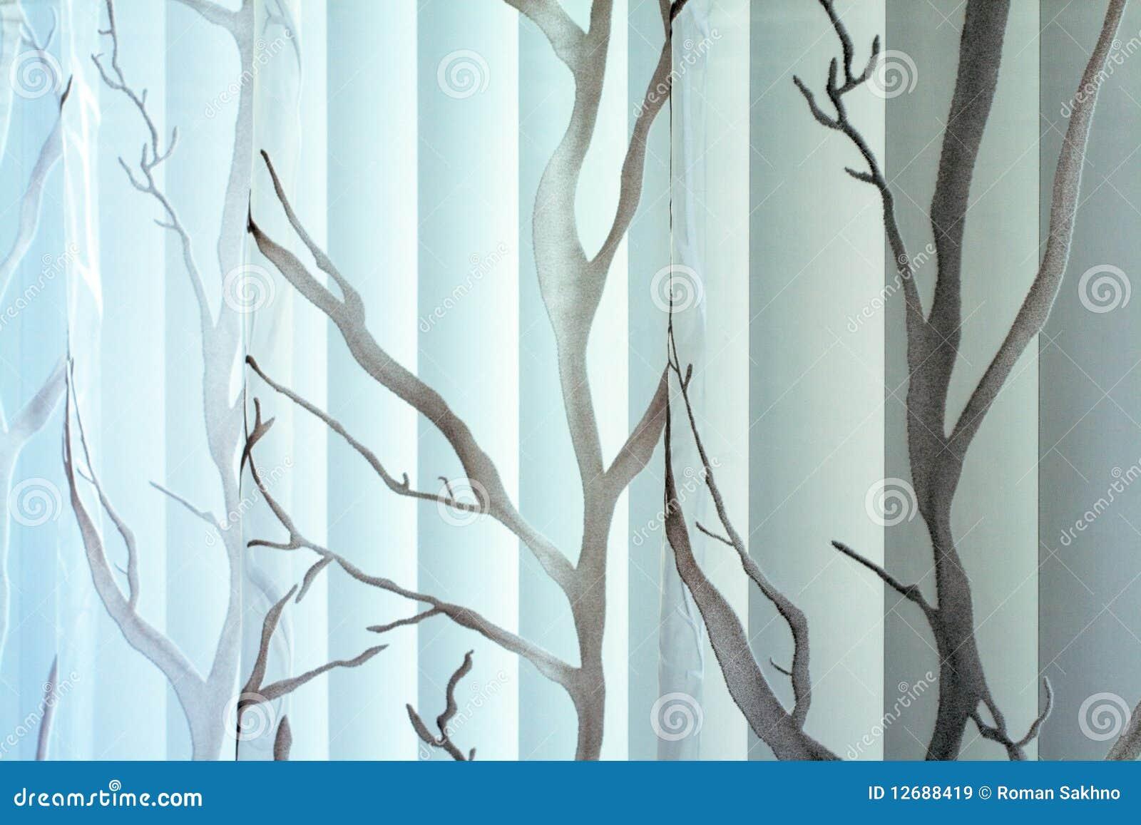 Textura da cortina e do jalousie vertical