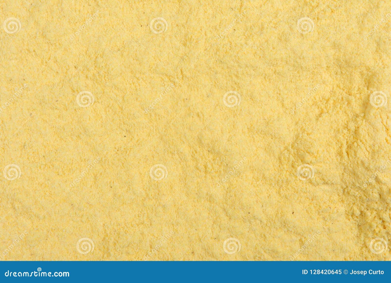 Textura da farinha de milho