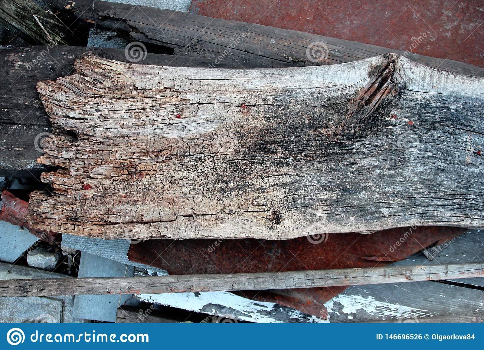 Textura da foto da prancha de madeira envelhecida velha