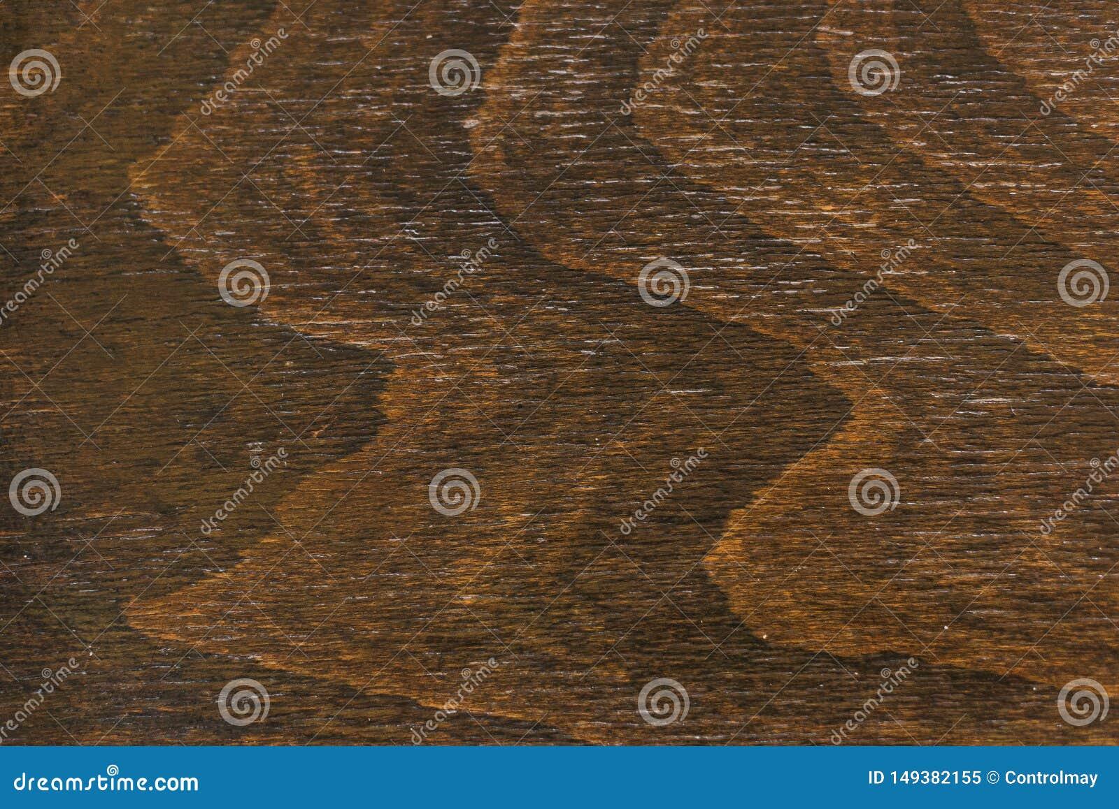 Textura da madeira do marrom escuro Fundo de Brown