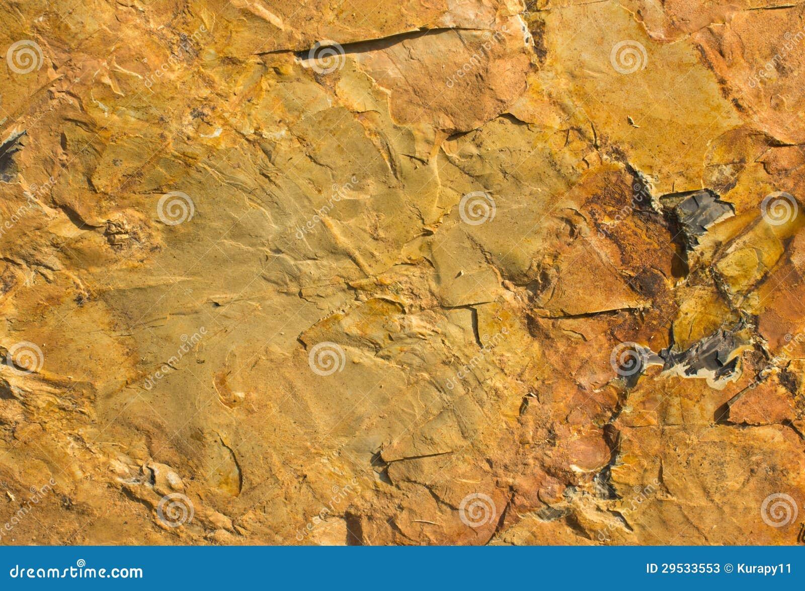 Textura da pedra marrom.