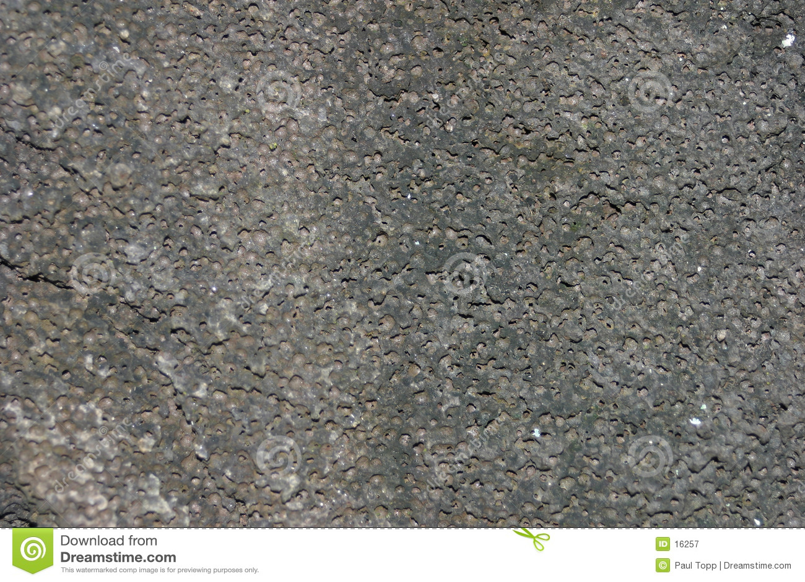Textura da rocha