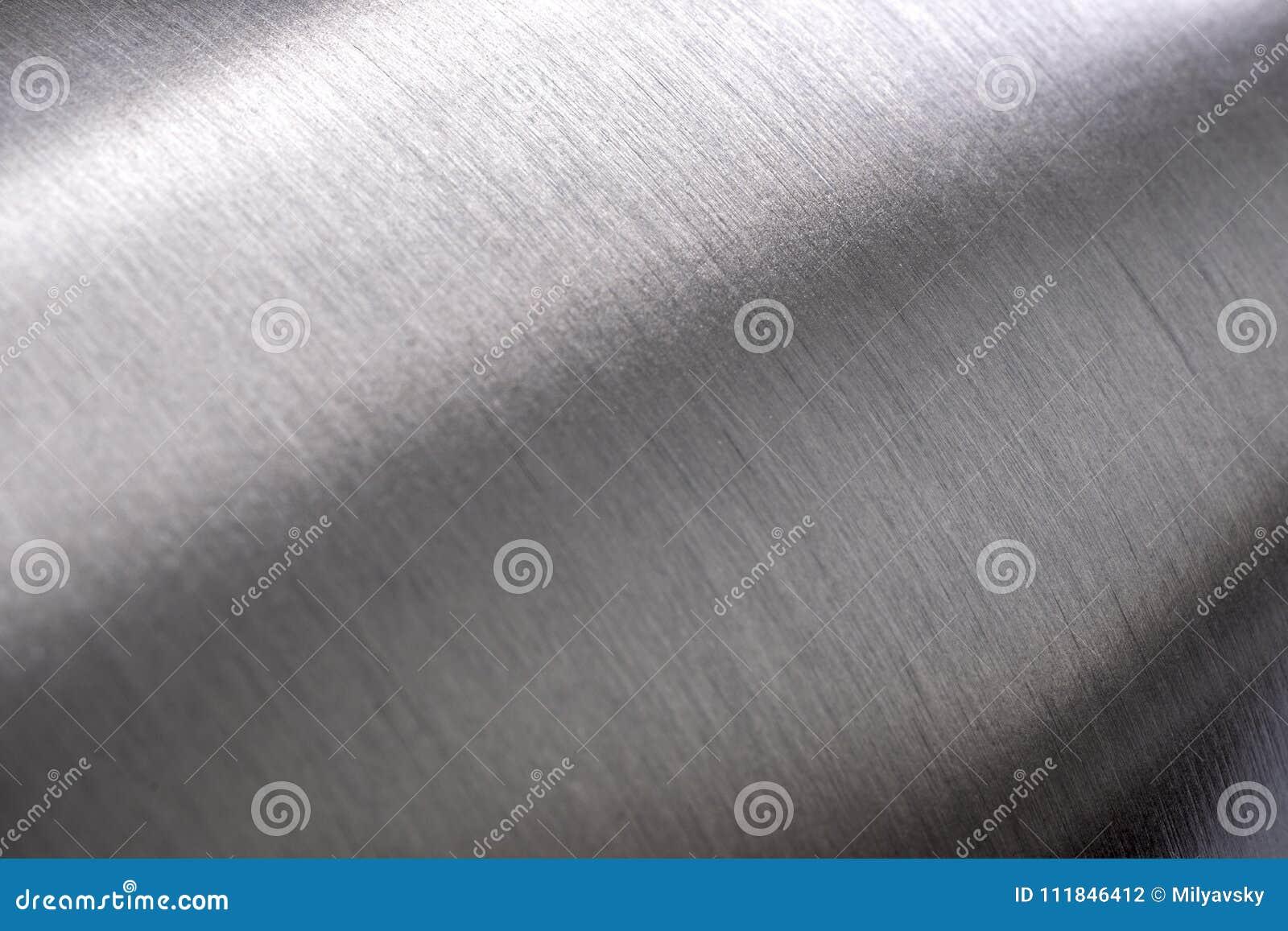 Textura de aço inoxidável, metal arredondado