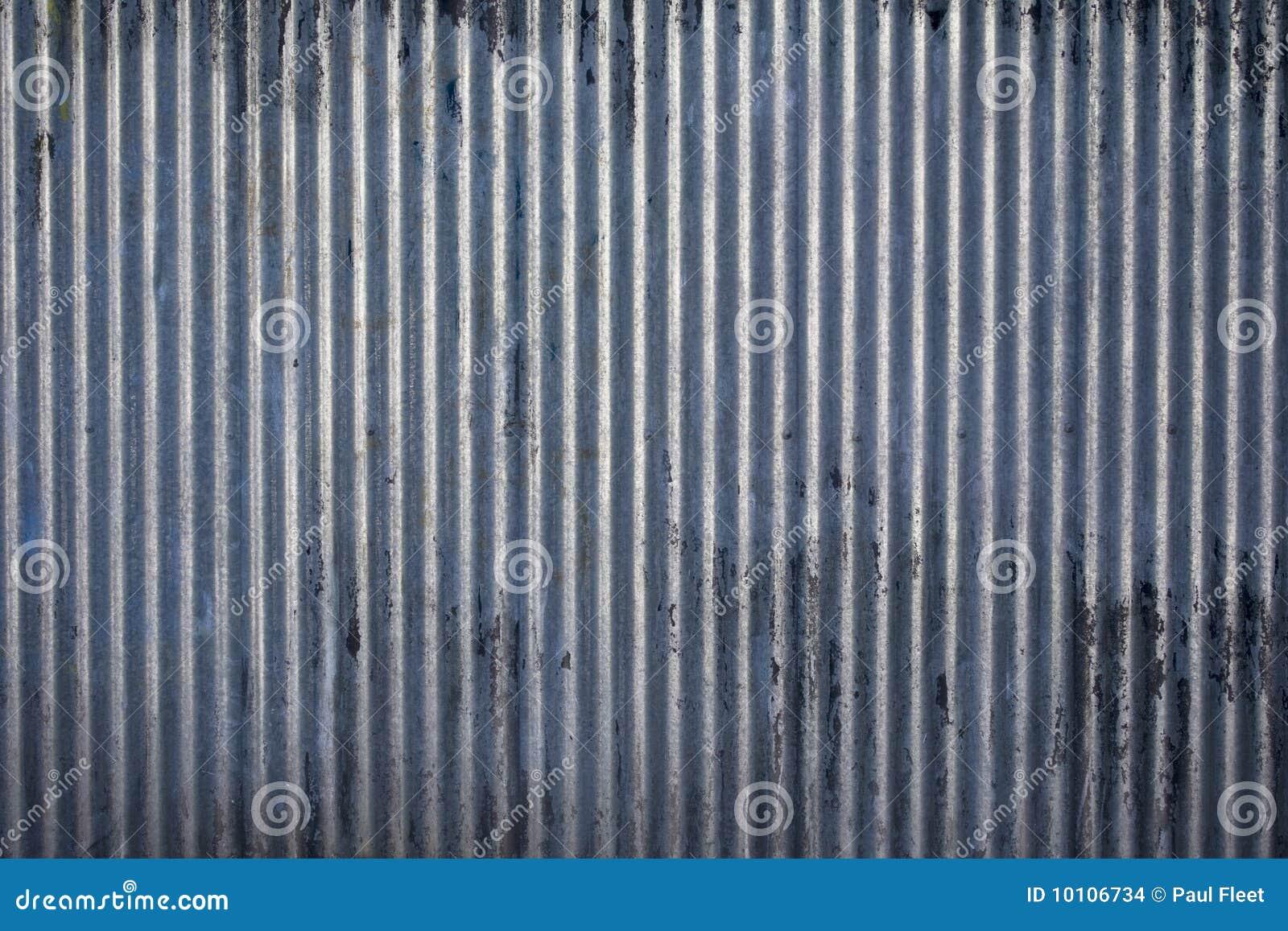 Textura de acero acanalada