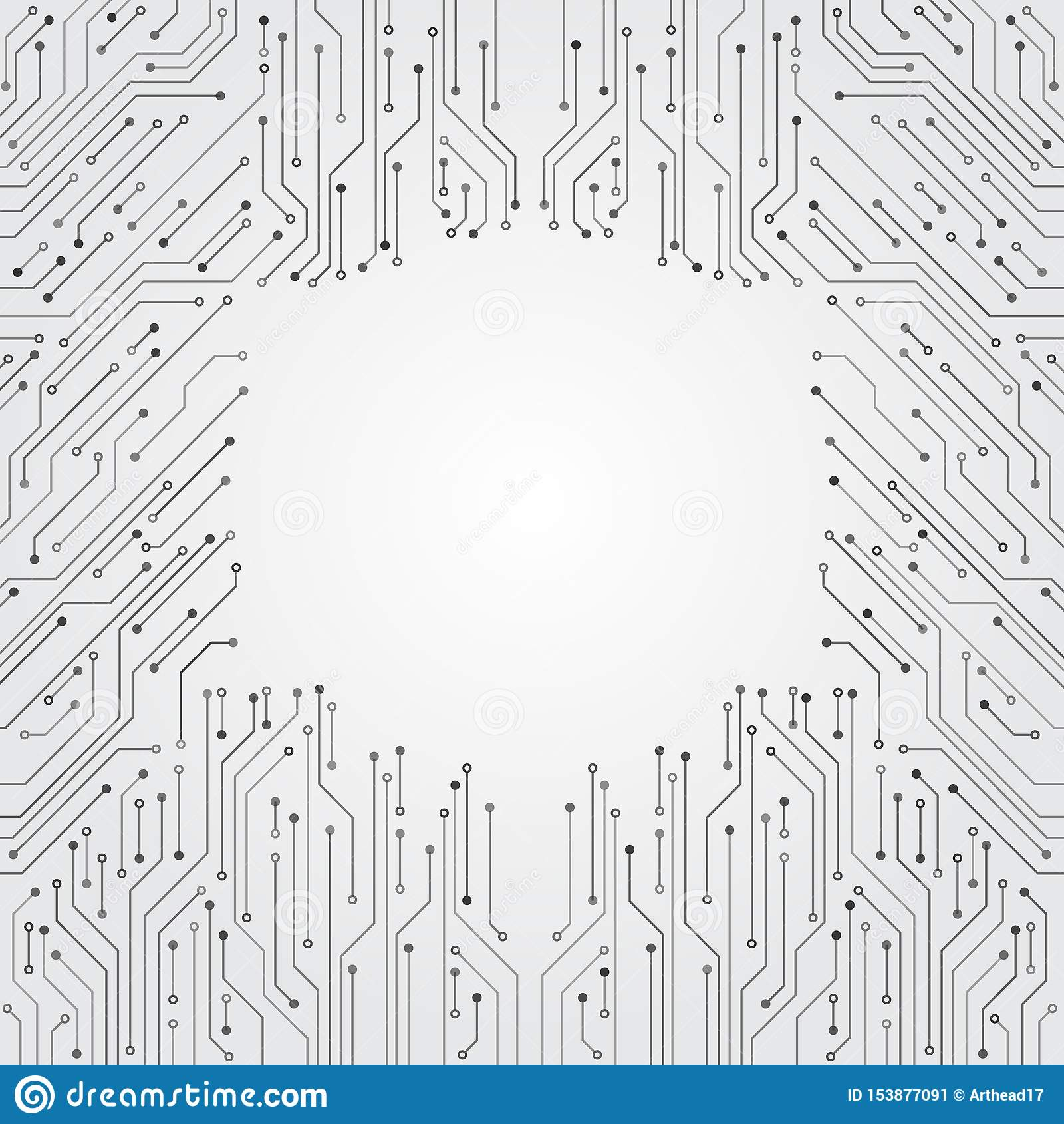 Textura de alta tecnolog?a del fondo de la tecnolog?a Modelo mínimo de la placa de circuito
