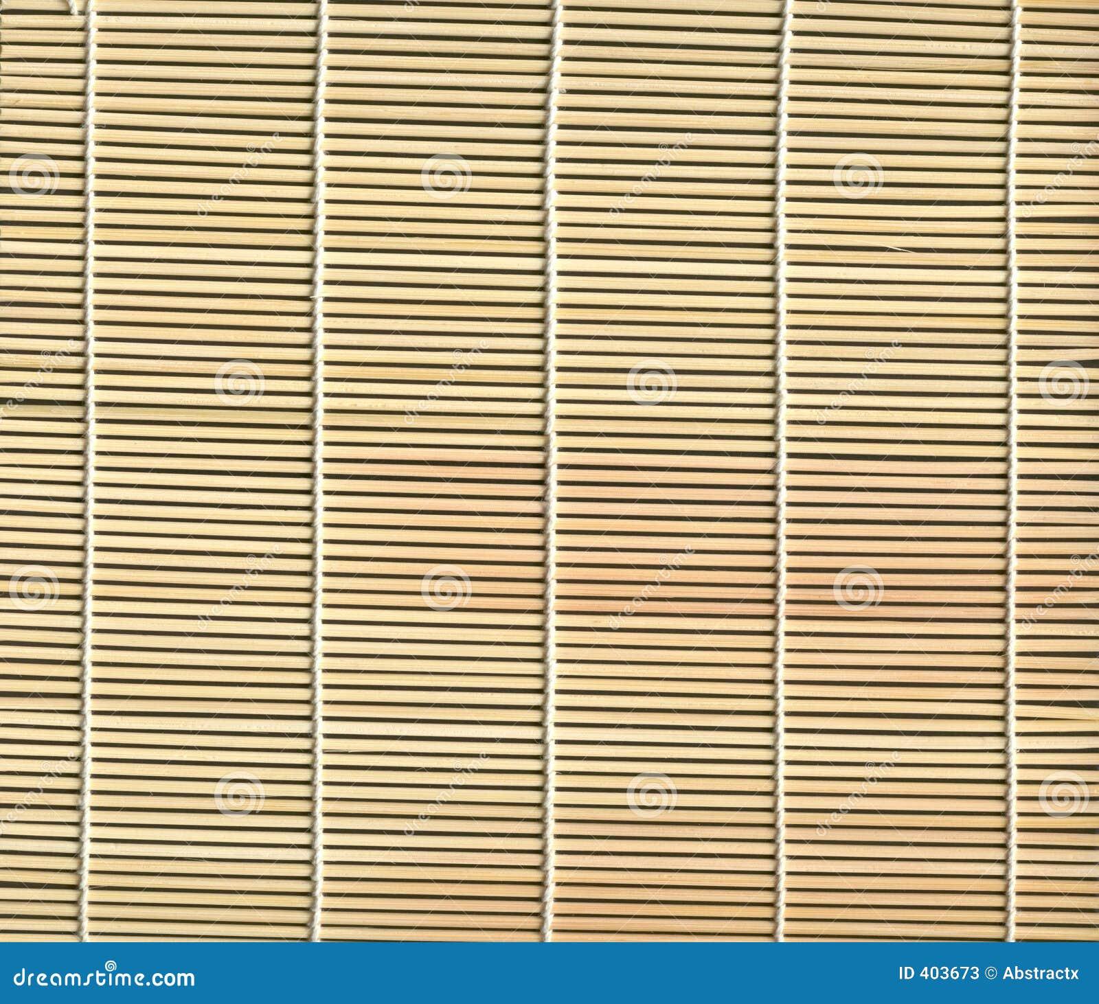 Textura de bambu da esteira