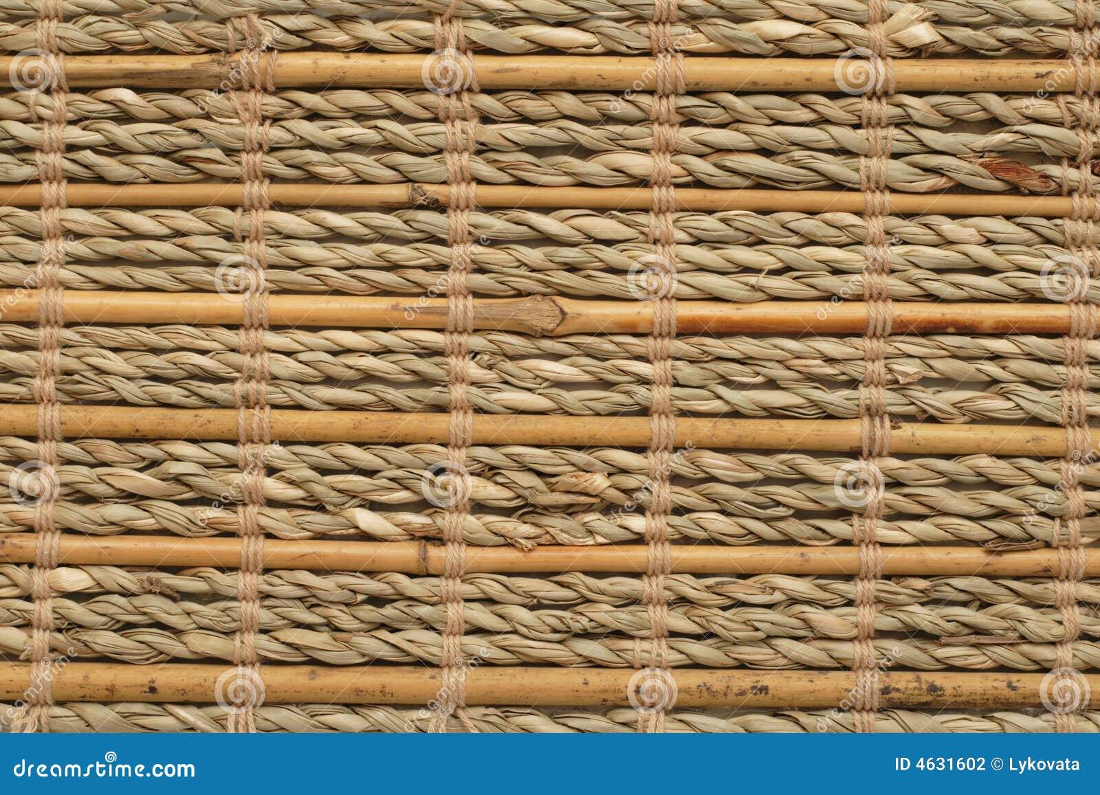 Textura de bambu do basktery