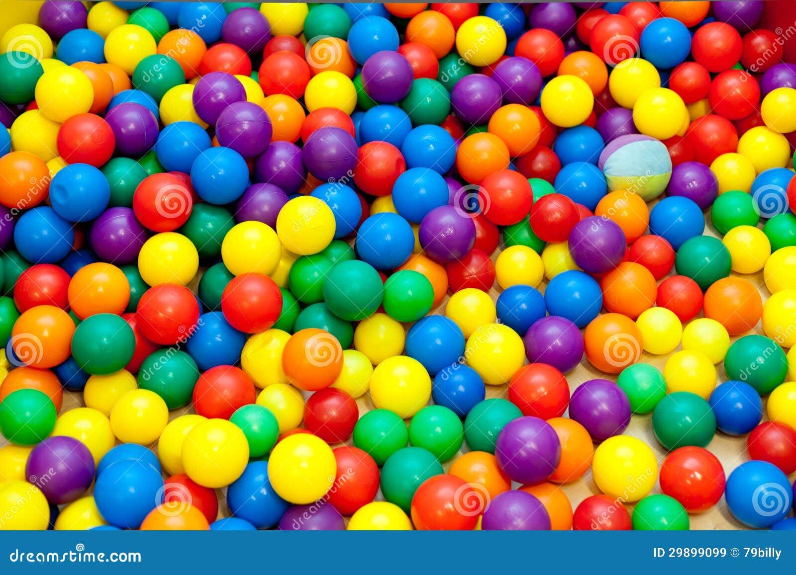 Bolas coloridas imagem de stock imagem de textura for Bolas para piscina de bolas
