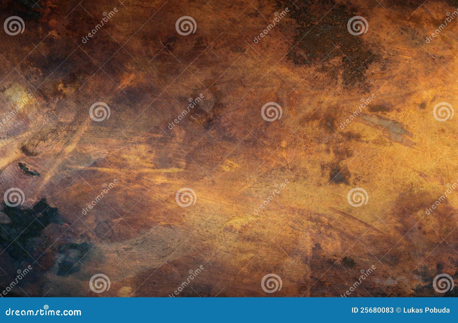 Textura de cobre velha