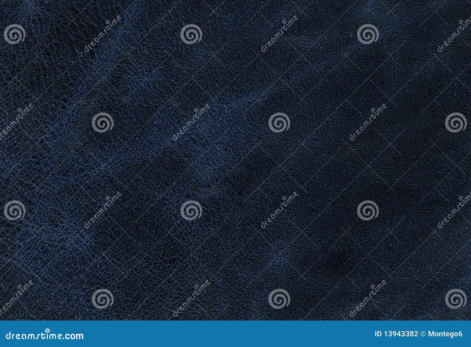 Textura de cuero azul