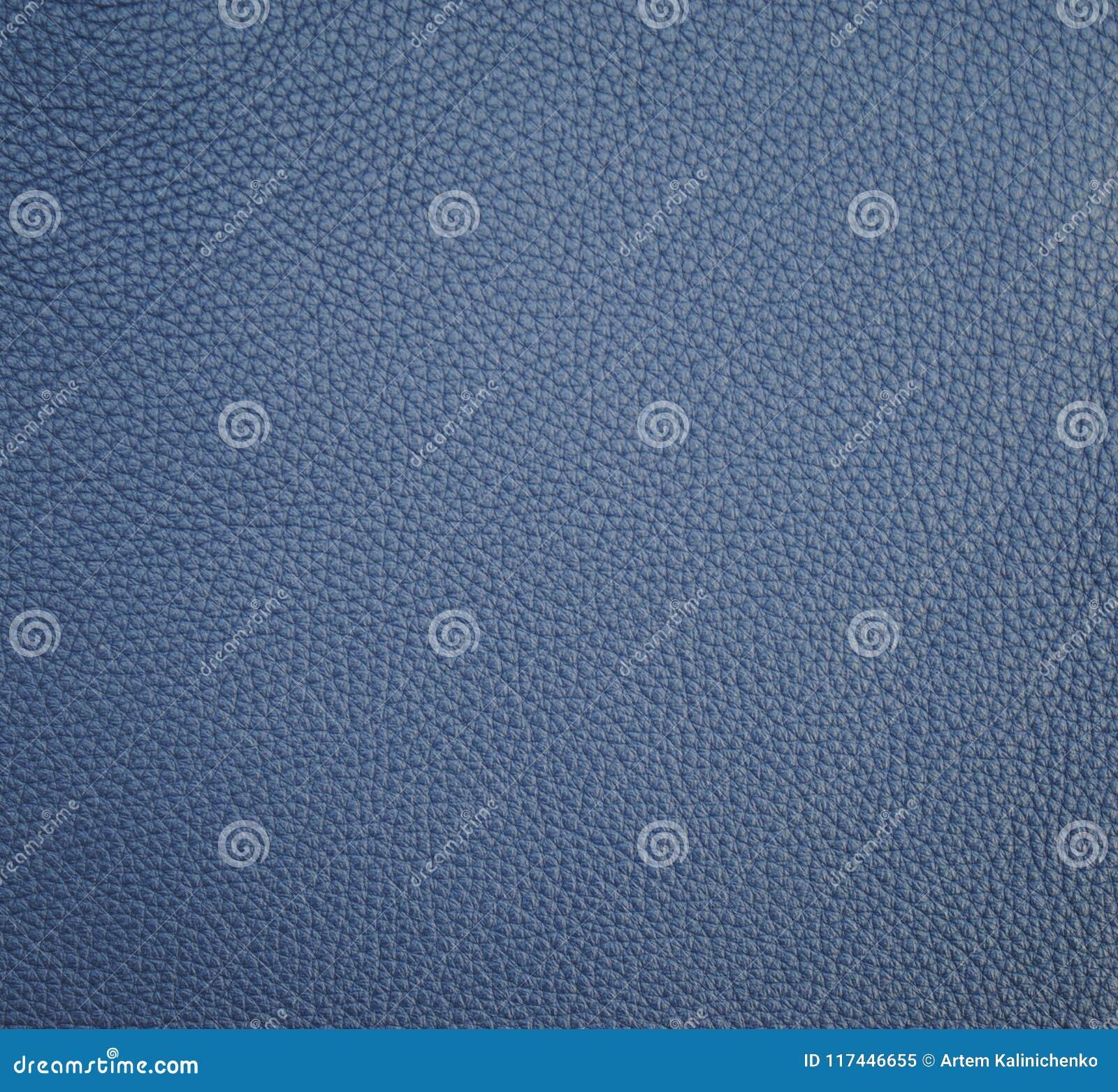 Textura de cuero mineral azul para el fondo