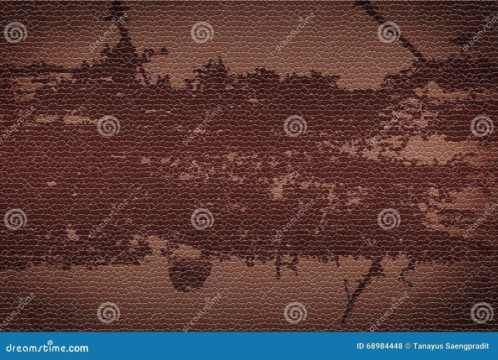 Textura de cuero rojo marrón del fondo